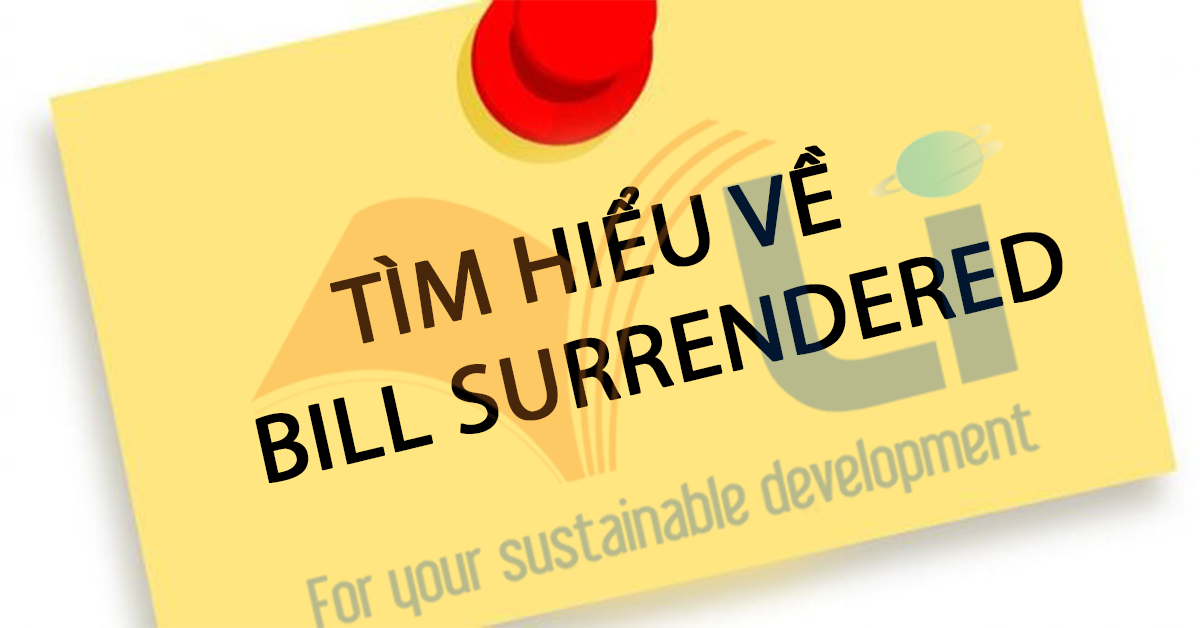 Surrendered-bill-of-lading